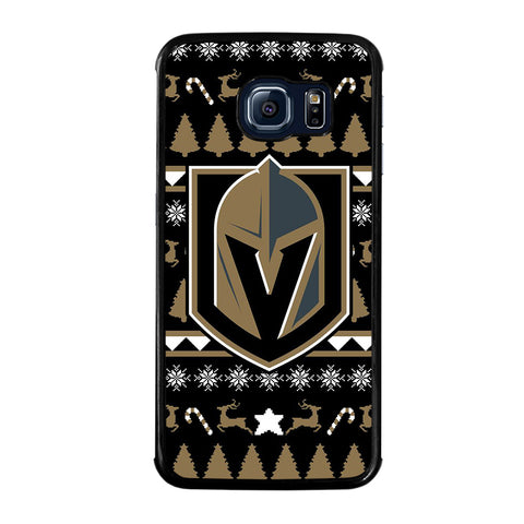 VEGAS GOLDEN KNIGHTS LOGO-samsung-galaxy-S6-edge-case-cover