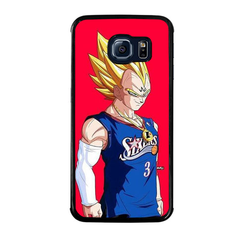 VEGETA DRAGON BALL PHILADELPHIA SIXERS-samsung-galaxy-S6-edge-case-cover
