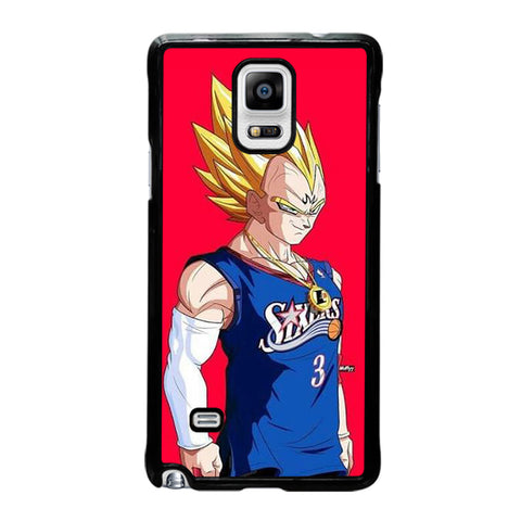 VEGETA DRAGON BALL PHILADELPHIA SIXERS-samsung-galaxy-note-4-case-cover