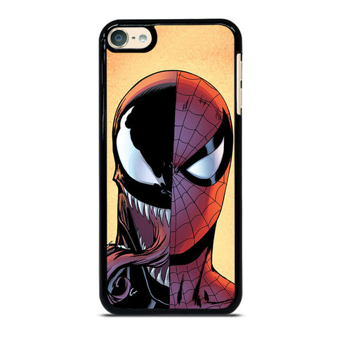 VENOM VS SPIDERMAN FACE-ipod-touch-4-5-6-case-cover