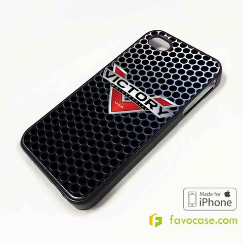 VICTORY Motorcycle Logo iPhone 4/4S 5/5S/SE 5C 6/6S 7 8 Plus X Case Cover