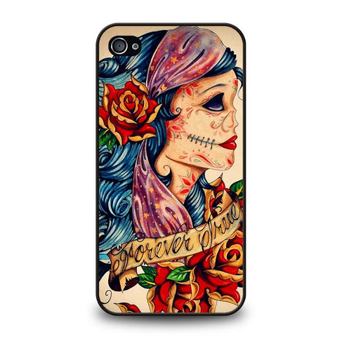 VINTAGE-SUGAR-SCHOOL-TATTOO-iphone-4-4s-case-cover