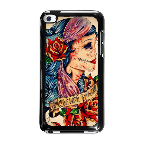 VINTAGE-SUGAR-SCHOOL-TATTOO-ipod-touch-4-case-cover