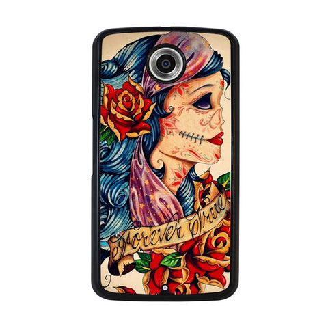 VINTAGE-SUGAR-SCHOOL-TATTOO-nexus-6-case-cover