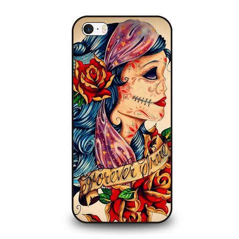 VINTAGE-SUGAR-SCHOOL-TATTOO-iphone-se-case-cover