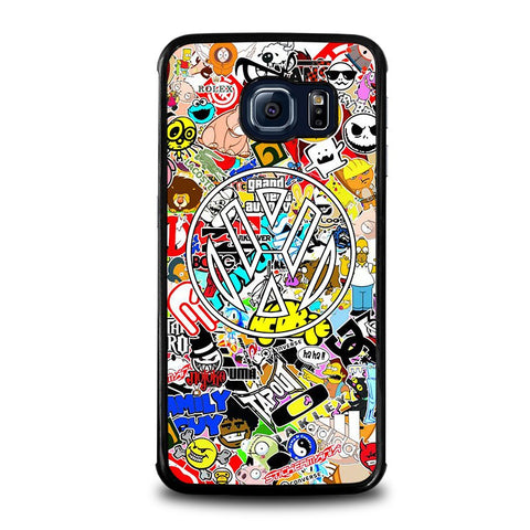 VW-STICKER-BOMB-samsung-galaxy-s6-edge-case-cover