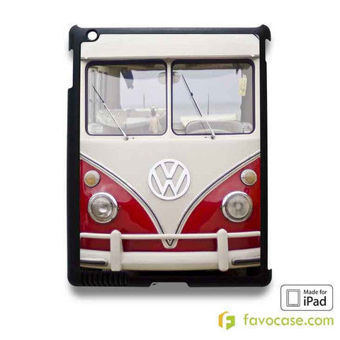 VW VOLKSWAGEN VAN iPad 2 3 4 5 Air Mini Case Cover