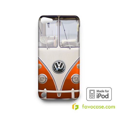 VW VOLKSWAGEN VAN Camper Combi iPod Touch 4, 5 Case Cover