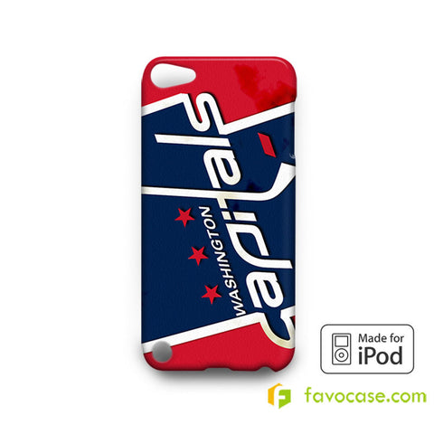 WASHINGTON CAPITALS Ice Hockey Team NHL  iPod Touch 4 5 6 Case