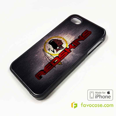 WASHINGTON REDSKINS Football Team NFL iPhone 4/4S 5/5S/SE 5C 6/6S 7 8 Plus X Case Cover