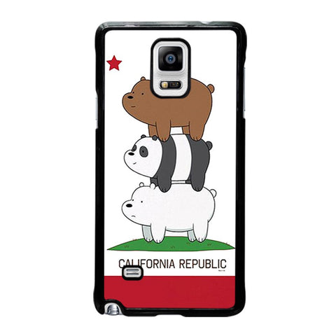 WE-BARE-BEARS-CALIFORNIA-REPUBLIC-samsung-galaxy-note-4-case-cover