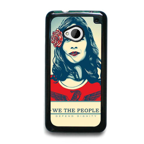 WE-THE-PEOPLE-DEFEND-THE-DIGNITY-HTC-One-M7-Case-Cover