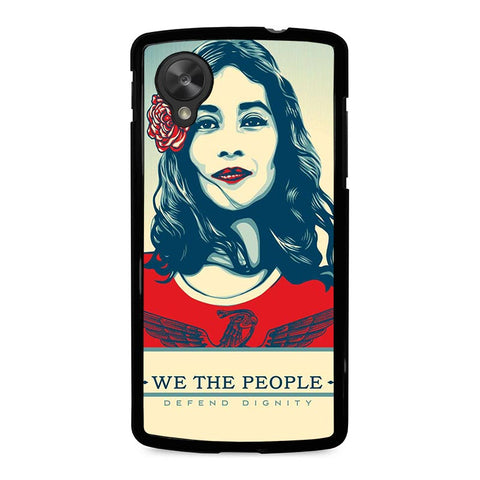WE-THE-PEOPLE-DEFEND-THE-DIGNITY-nexus-5-case-cover