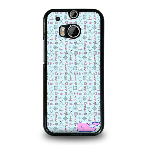 WHALE-KATE-SPADE-PATTERN-HTC-One-M8-Case-Cover