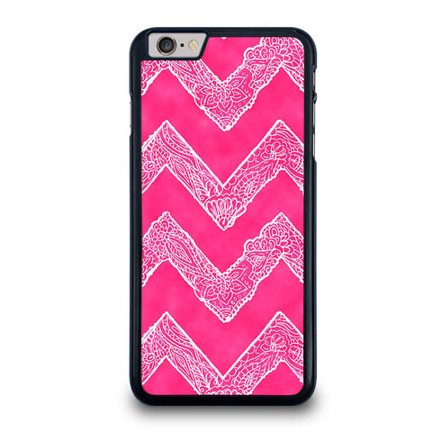 WHITE-FLORAL-PAISLEY-CHEVRON-PATTERN-iphone-6-6s-plus-case-cover