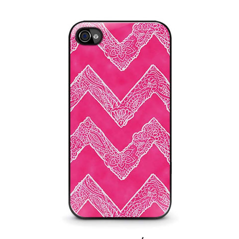 white-floral-paisley-chevron-pattern-iphone-4-4s-case-cover