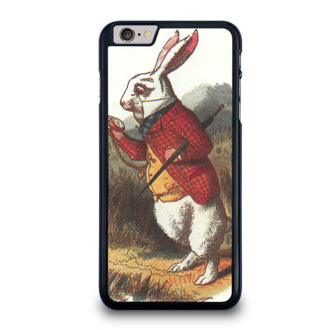 WHITE-RABBIT-ALICE-IN-WONDERLAND-Disney-iphone-6-6s-plus-case-cover