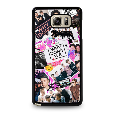 WHY DON'T WE COLLAGE-samsung-galaxy-note-5-case-cover