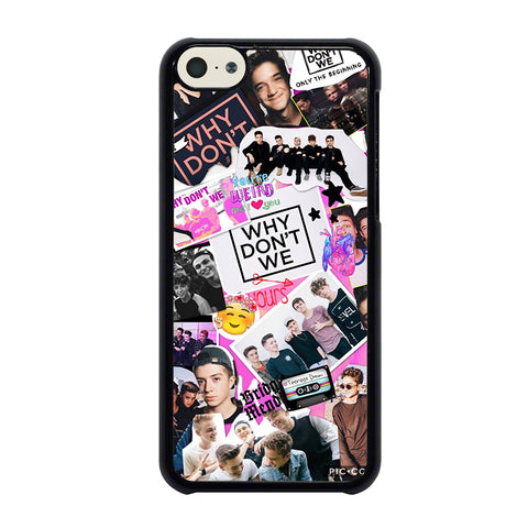 WHY DON'T WE COLLAGE-iphone-5c-case-cover