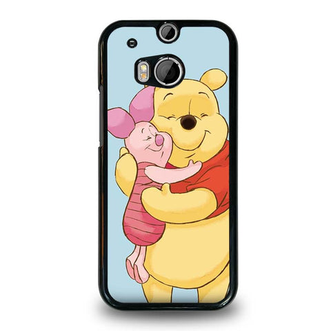 WINNIE-THE-POOH-AND-PIGLET-HTC-One-M8-Case-Cover