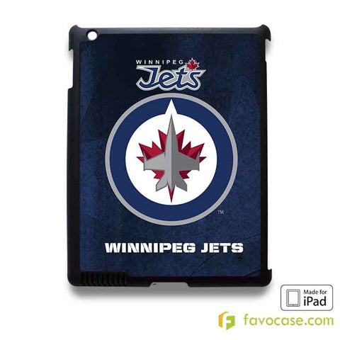 WINNIPEG JETS 2 Ice Hockey Team NHL iPad 2 3 4 5 Air Mini Case Cover