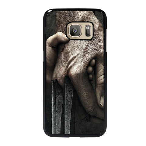 WOLVERINE LOGAN MARVEL X-MEN-samsung-galaxy-s7-case-cover