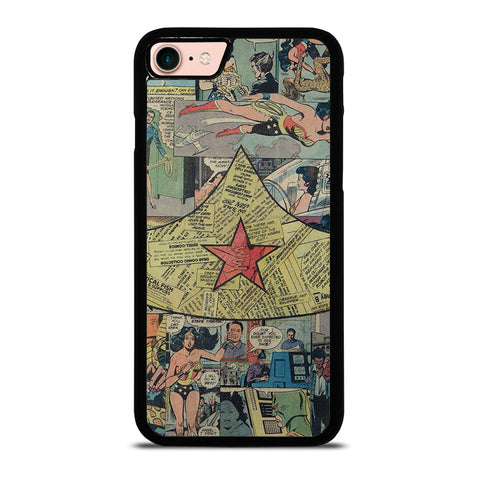 WONDER-WOMAN-COLLAGE-iphone-8-case-cover