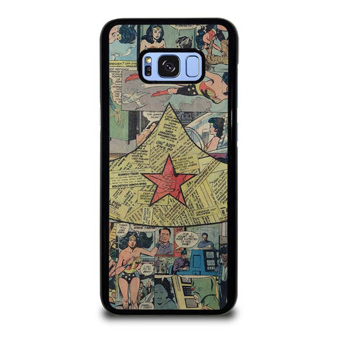 WONDER-WOMAN-COLLAGE-samsung-galaxy-S8-plus-case-cover