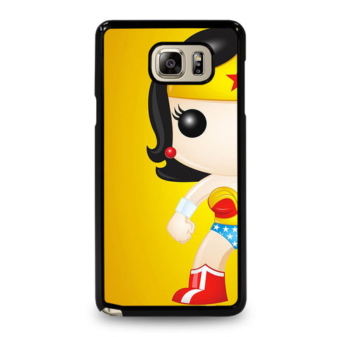 WONDER WOMAN KAWAII-samsung-galaxy-note-5-case-cover
