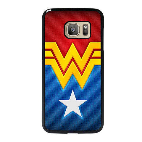 WONDER WOMAN LOGO-samsung-galaxy-s7-case-cover