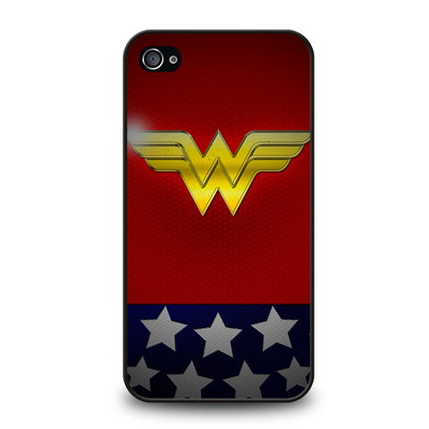 WONDER WOMAN LOGO 2-iphone-4-4s-case-cover