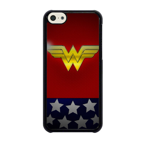WONDER WOMAN LOGO 2-iphone-5c-case-cover