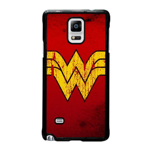 WONDER WOMAN LOGO ART-samsung-galaxy-note-4-case-cover