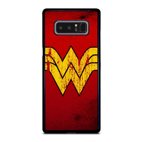 WONDER WOMAN LOGO ART-samsung-galaxy-note-8-case-cover