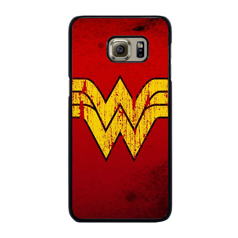 WONDER WOMAN LOGO ART-samsung-galaxy-S6-edge-plus-case-cover