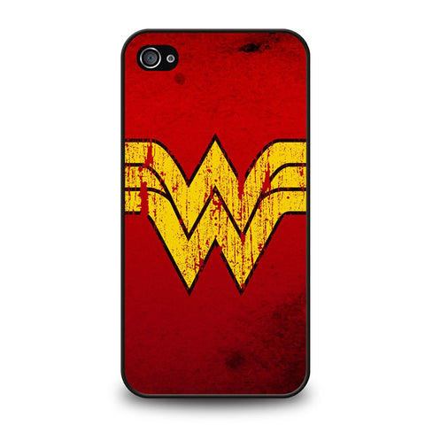 WONDER WOMAN LOGO ART-iphone-4-4s-case-cover