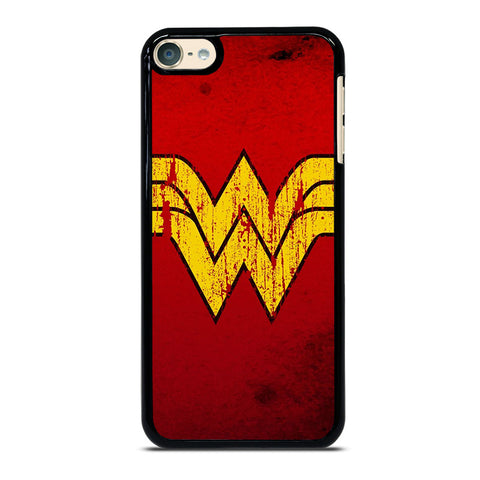 WONDER WOMAN LOGO ART-ipod-touch-6-case-cover