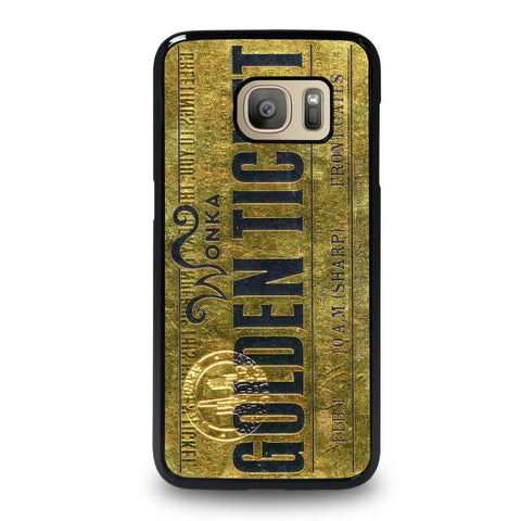 WONKA-GOLD-TICKET-samsung-galaxy-S7-case-cover