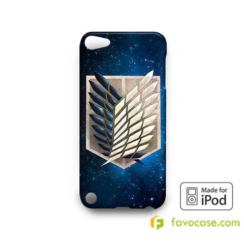 WINGS OF FREEDOM SHINGEKI NO KYOJIN ANIME  iPod Touch 4 5 6 Case