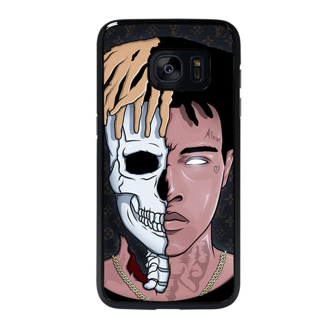 XXXTENTACION SKUL FACE-samsung-galaxy-S7-edge-case-cover