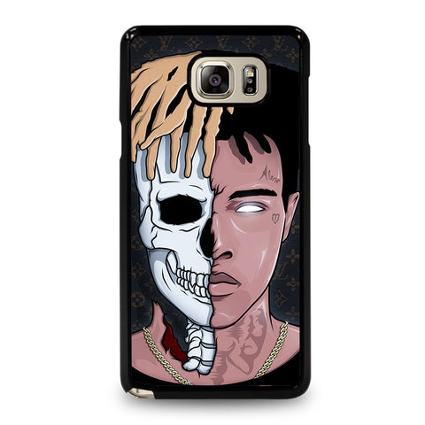 XXXTENTACION SKUL FACE-samsung-galaxy-note-5-case-cover