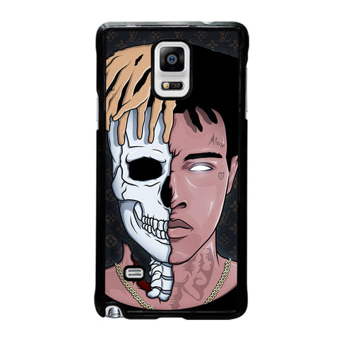 XXXTENTACION SKUL FACE-samsung-galaxy-note-4-case-cover