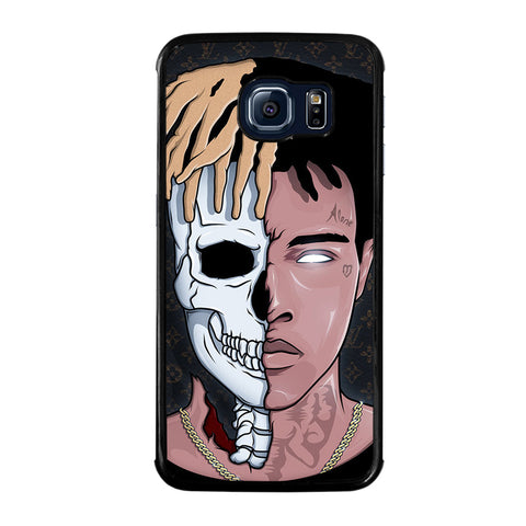 XXXTENTACION SKUL FACE-samsung-galaxy-S6-edge-case-cover