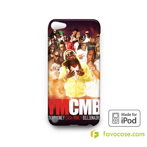 YMCMB Young Money Cash Money Billionaire iPod Touch 4, 5 Case Cover