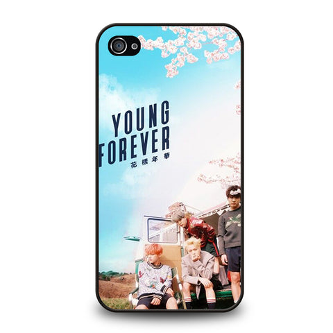 YOUNG FOREVER BANGTAN BOYS-iphone-4-4s-case-cover