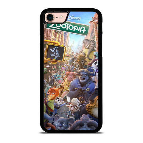 ZOOTOPIA-CHARACTERS-Disney-iphone-8-case-cover