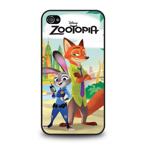ZOOTOPIA-JUDY-AND-NICK-Disney-iphone-4-4s-case-cover