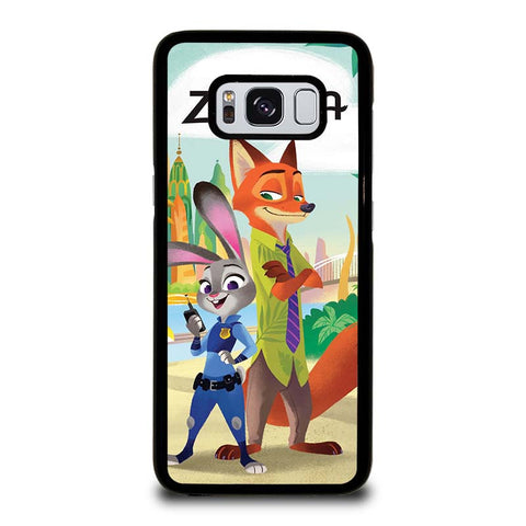 ZOOTOPIA-JUDY-AND-NICK-Disney-samsung-galaxy-S8-case-cover