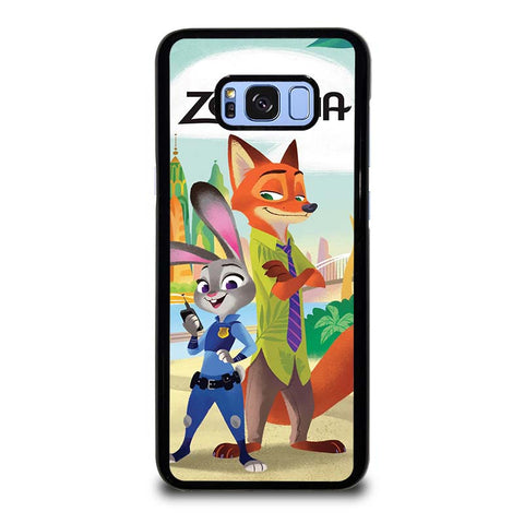 ZOOTOPIA-JUDY-AND-NICK-Disney-samsung-galaxy-S8-plus-case-cover