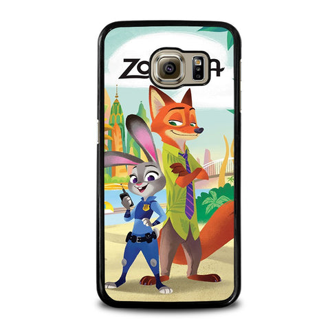 ZOOTOPIA-JUDY-AND-NICK-Disney-samsung-galaxy-s6-case-cover